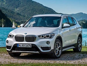 Новый внедорожник BMW X1 2015 фото